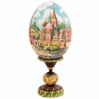 ЯЙЦО МОСКВА НА ПОДСТАВКЕ_1 яйцо на подставке воскресение христово дерево