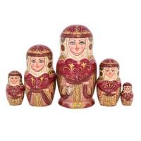 Россия Матрешка Княгиня Ольга 5 мест 2