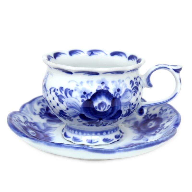 Чайная пара Незабудка чайная пара asa selection a table 1912 013