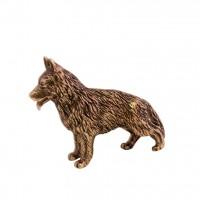 Скульптура  Немецкая овчарка гамма табличка охраняется собакой силуэт немецкая овчарка 255 170 мм
