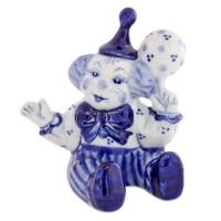 Россия Скульптура Клоун с мячом1 скульптура снеговик клоун