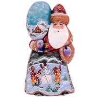 скульптура дед мороз(рисунок снеговик) скульптура снеговик клоун