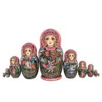 Россия Матрешка Жар-птица 10 мест 1