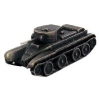 Модель советского легкого танка БТ-5(1:100,Бронза) tamiya model 1 35 scale military models 35318 bt 42 plastic model kit