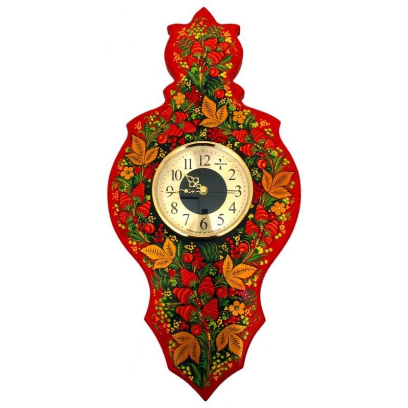 Россия 34220000000 Панно рез. с часам