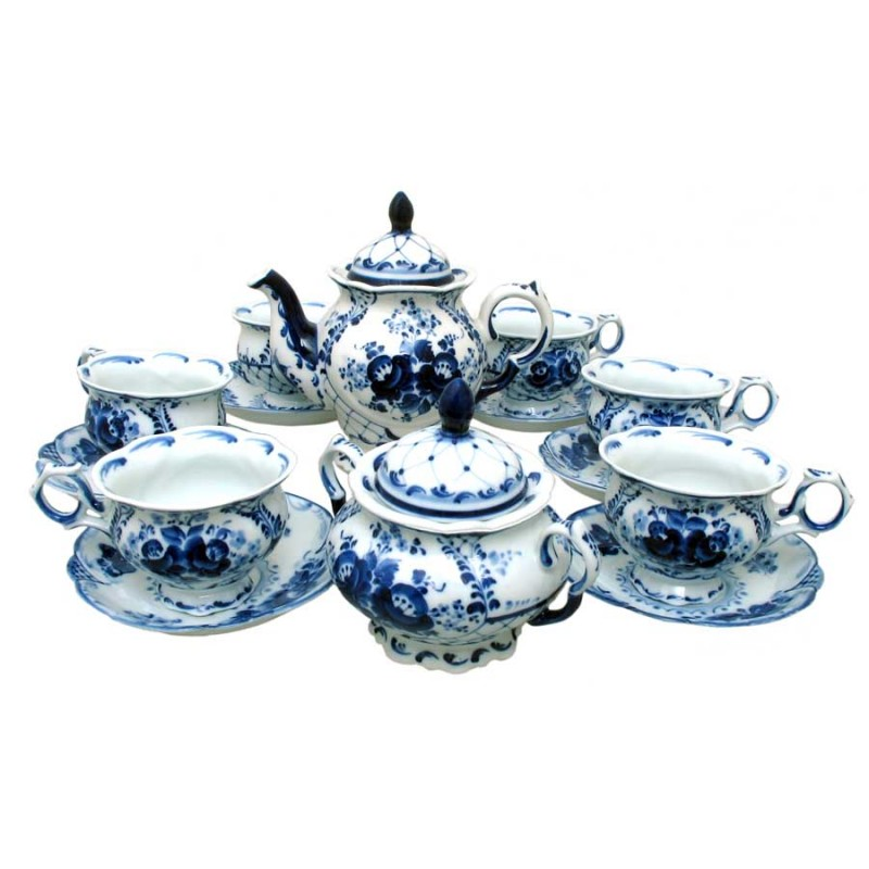 Россия Сервиз чай Тюльпан
