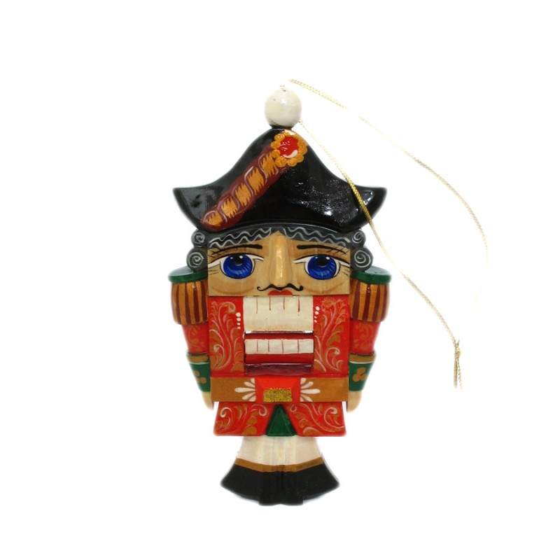 Игрушка подвесная Щелкунчик (плоск) 14см скульптура щелкунчик доктор