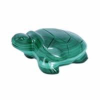 Скульптура Черепаха (малахит) черепаха малахит 4 см