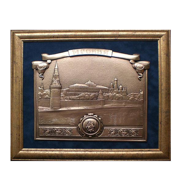 10-024 Картина с видом Москвы Кремлёвская набережная