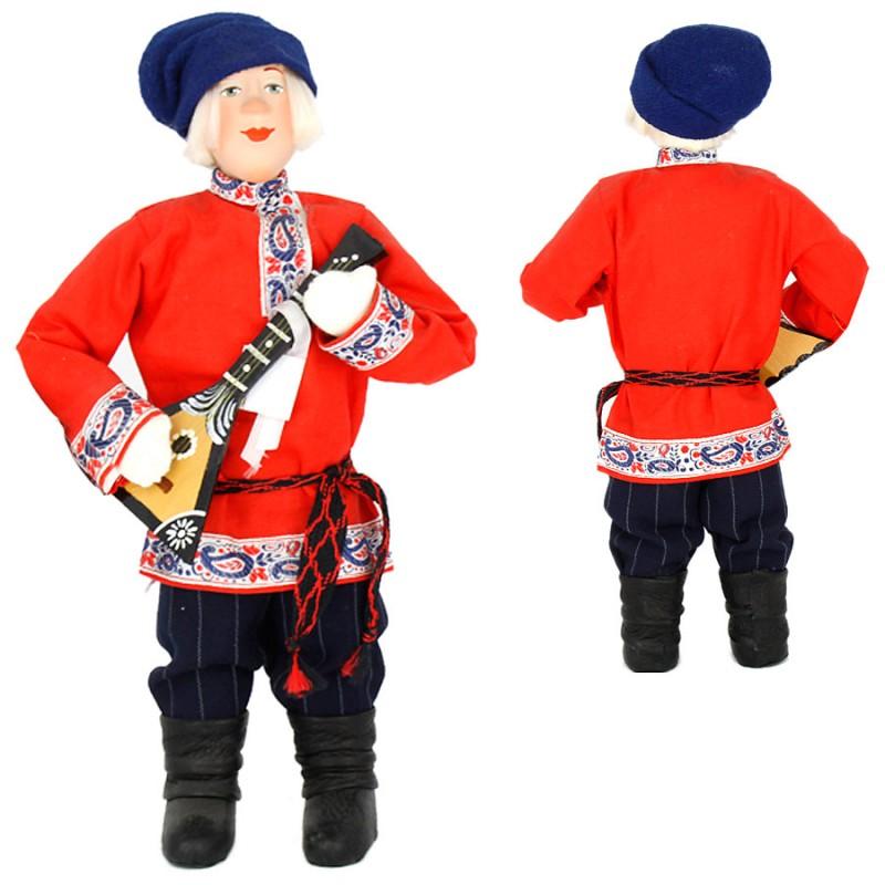 Россия Кукла А2-6 Иван с балалайкой кукла yako m6579 6