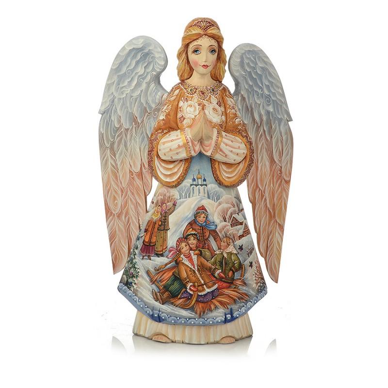 "Скульптура из дерева ""Ангел"" от Наследие"