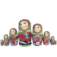 Россия Матрешка Тройка 8 мест 1