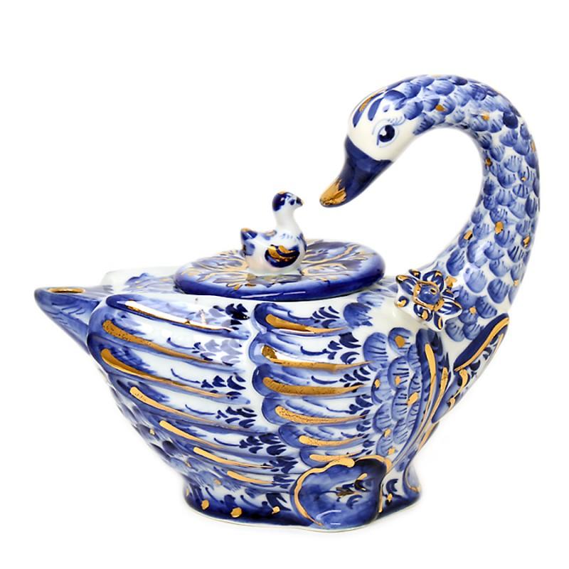 Чайник Лебедь в/з