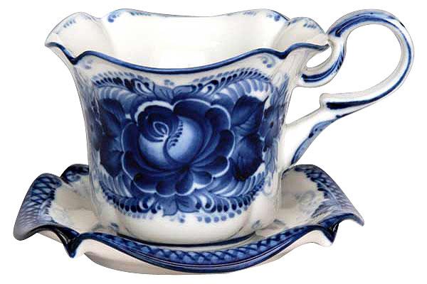 Россия Чайная пара Колокольчикм. чайная пара asa selection a table 1912 013