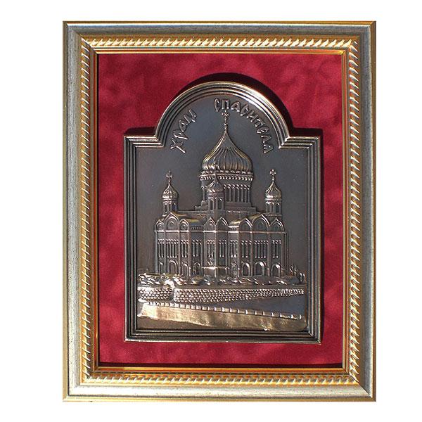 10-023 Плакетка Храм Спасителя 25х31 эстет плакетка храм спасителя 10 023 gal10 023