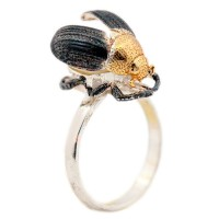 Кольцо янтарное 25030100095 5,30