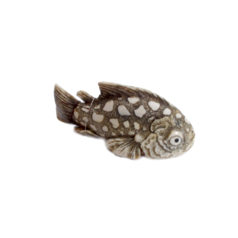 Скульптура из кости Рыба скульптура из кости мишка мал