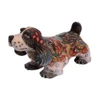Скульптура-шкатулка Собака Спаниель (дерево) английский спрингер спаниель украина