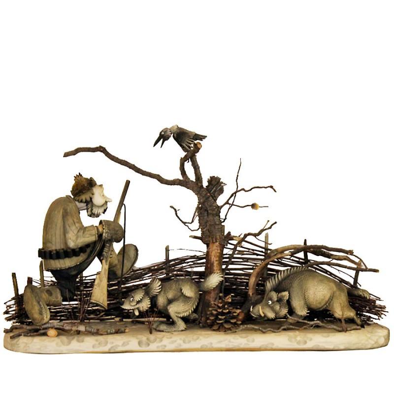 Композиция Охота на кабана охота на кабана и утку