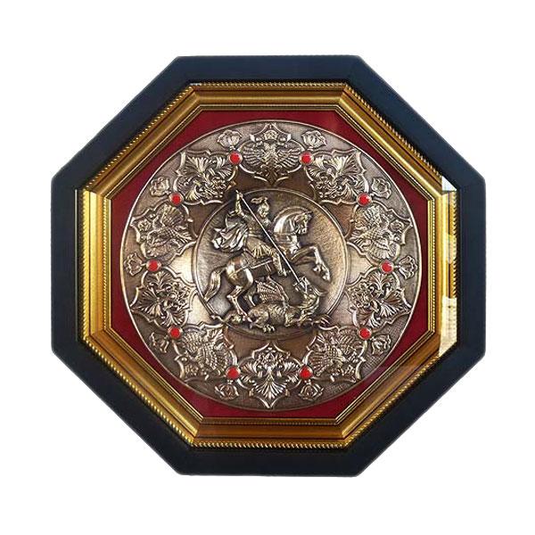 12-100 Плакетка Герб Москвы (тарелка) плакетка герб министерства внутренних дел рф мвд россии малая