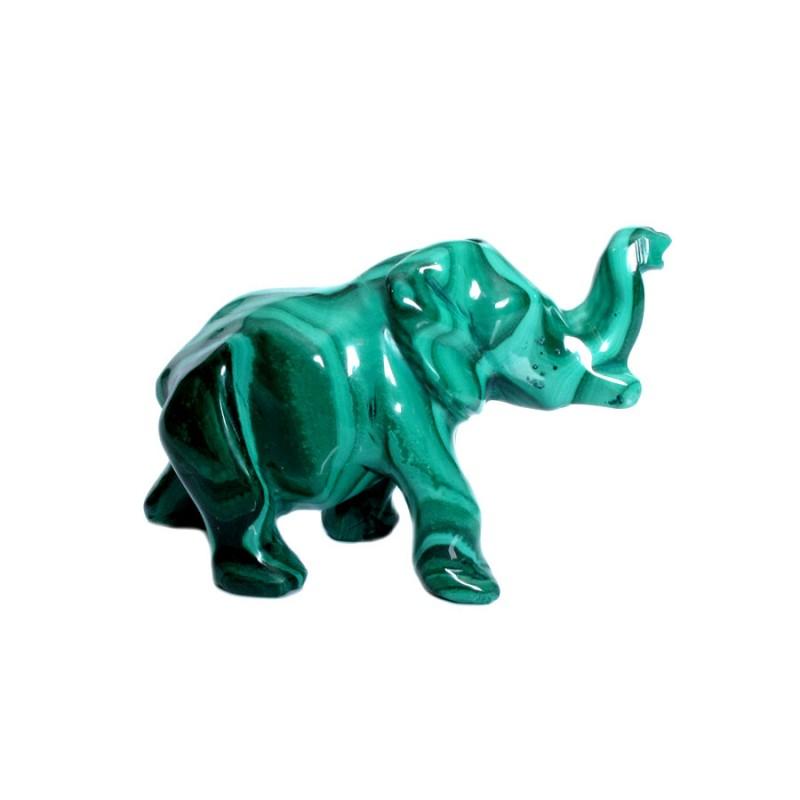 "Скульптура из малахита ""Слон"" (241,6) от Наследие"