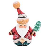 "Скульптура из дерева ""Дед мороз"" Н1120"