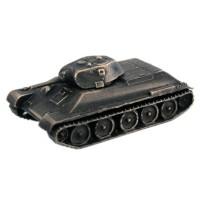 Модель танка Т-34/76 образца 1943 г(1:100,Бронза) limit 1 76 shanghai sk5105gp bus tramcar model alloy collection model holiday gift