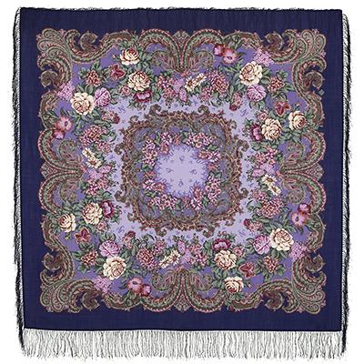 Павловопосадский платок шерстяной с шелковой бахромой Бал-маскарад, 125х125 см александрова ольга анатольевна бал маскарад
