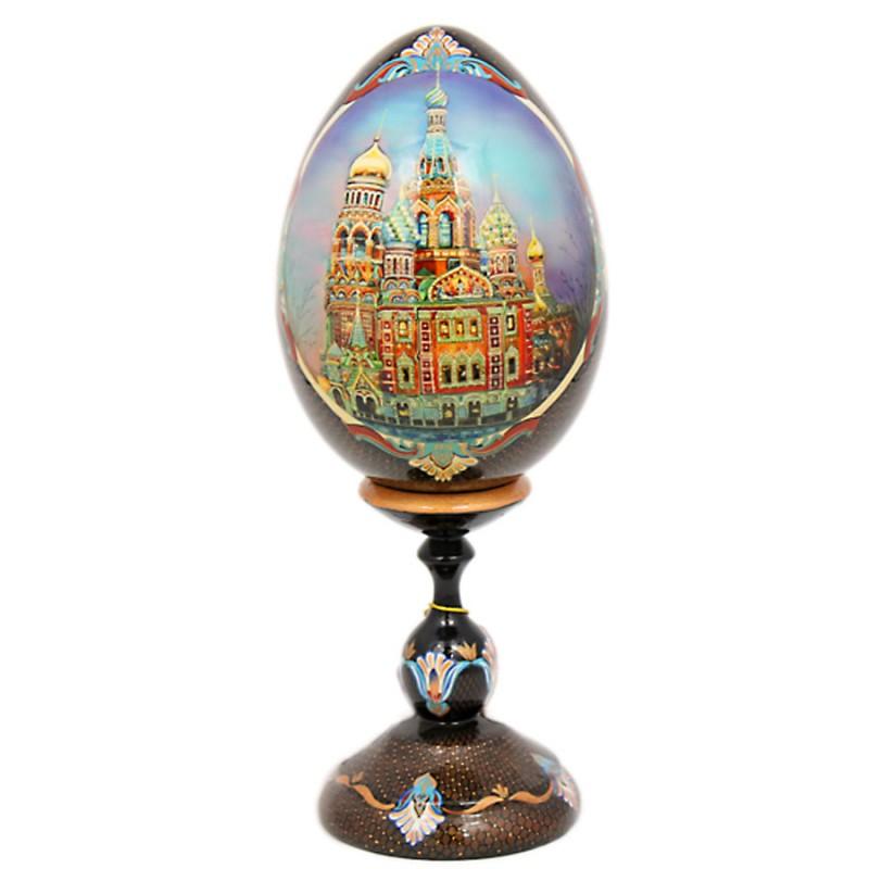 """Яйцо """"Санкт-Петербург"""" h=17см от Наследие"""