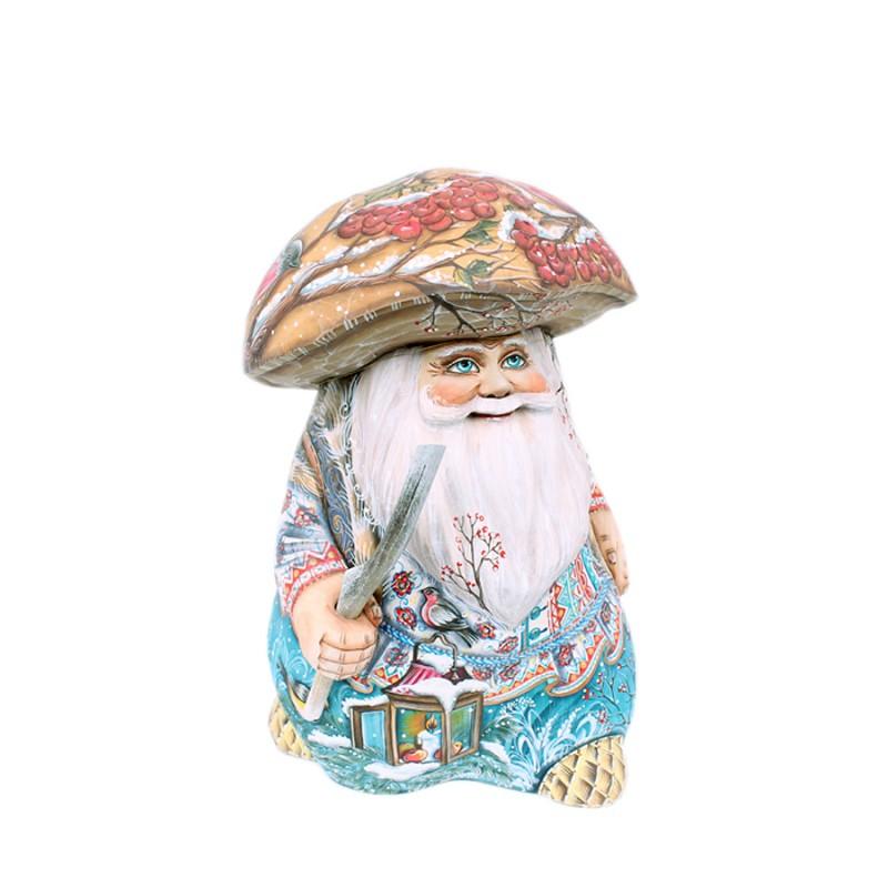 Россия Скульптура из дерева Гриб-лесовик от25см авт. Аксенова владислав стручков ёлкин палкин лесовик
