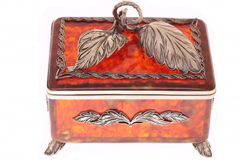 Brb-chai1K-L Набор коробочка с ложечкой от Наследие