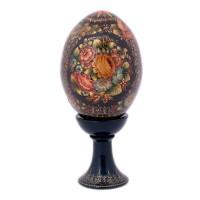 Яйцо на подставке Орнаментальное (дерево) яйцо на подставке воскресение христово дерево