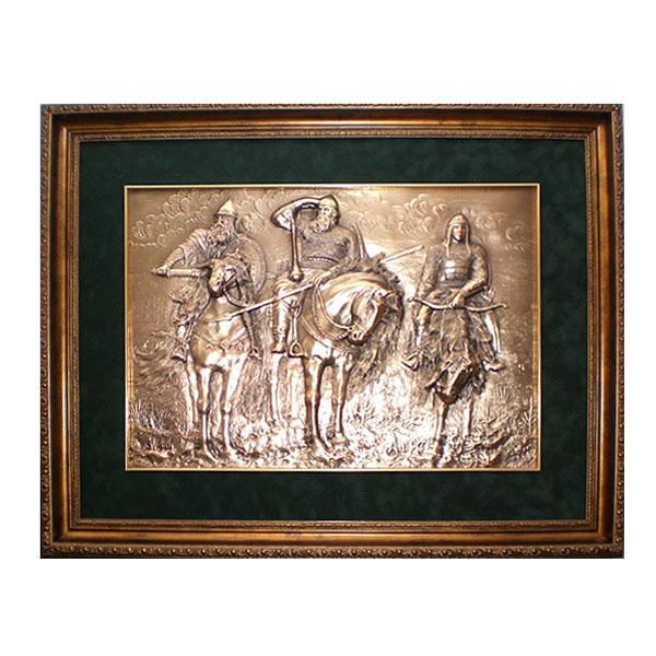 """10-016 Картина """"Три богатыря"""" 39х52 от Наследие"""
