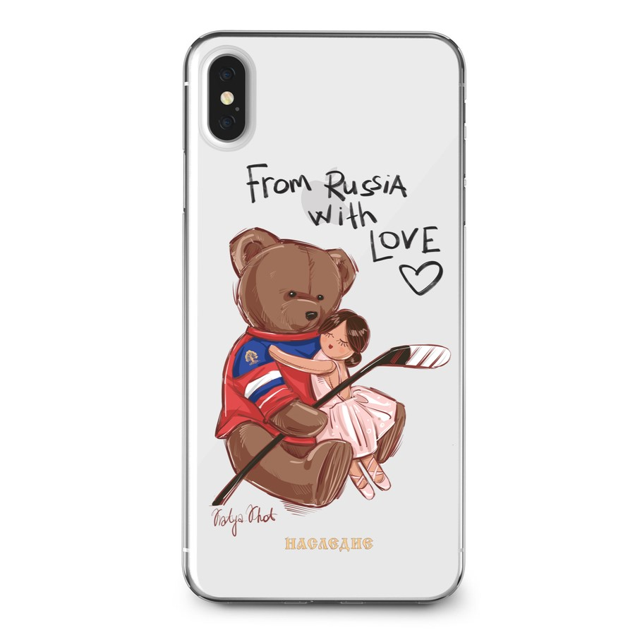 Чехол на IPhone коллекция From Russia with love
