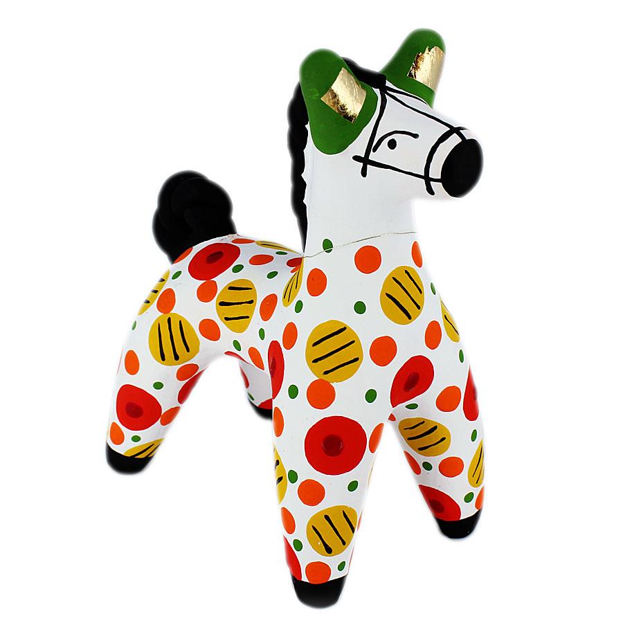 Дымковская игрушка картинки лошадка